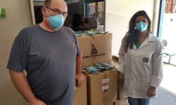 Mais 7 mil máscaras são disponibilizadas para servidores da Saúde
