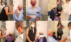 Primeiros idosos acima de 90 anos são imunizados