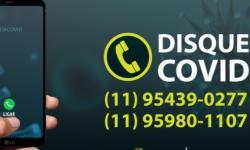 """Prefeitura cria o """"Disk Covid"""" , canal de informações sobre a pandemia"""