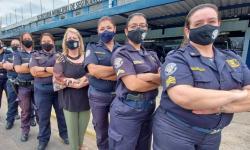 Primeira equipe feminina da Guarda Civil Municipal celebra 27 anos de sua criação