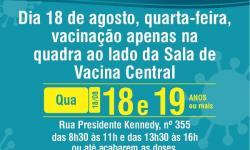 Município recebe novas doses de vacina contra a Covid-19