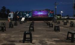 Amparo terá cinema ao ar livre para as crianças
