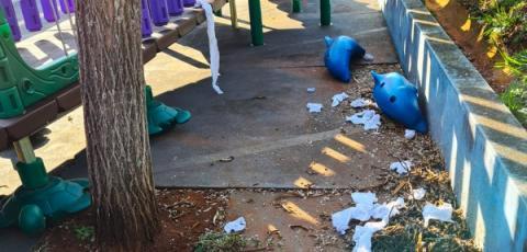 Escola no Jardim São Miguel é alvo de vandalismo