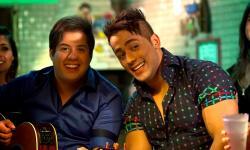 Hugo e Thiago se apresentam na comemoração do  aniversário do município