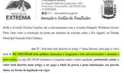 Desapropriação por quase  R$ 4 milhões repercute na cidade