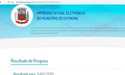 Primeiro Decreto de desapropriação da área da família do presidente da Câmara não está no site da Prefeitura