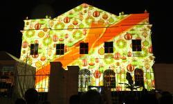 Projeção 3D na fachada do Centro Cultural ganha novas sessões