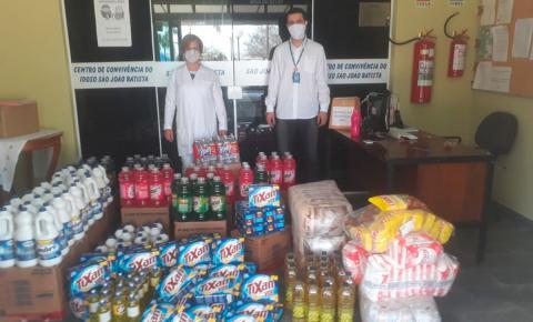 Centro de Convivência do Idoso recebe doação da Energisa