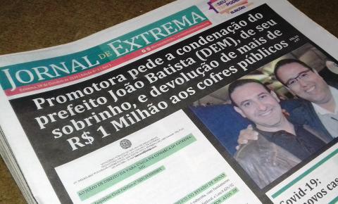 Jornal com circulação em Extrema sofre ataques