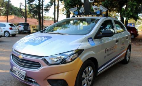 Carro equipado com câmeras percorrerá ruas para fiscalizar uso de Zona Zzul