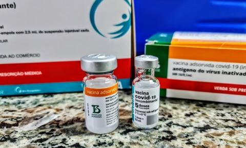 Aberto o agendamento para vacinação de novas faixas etárias