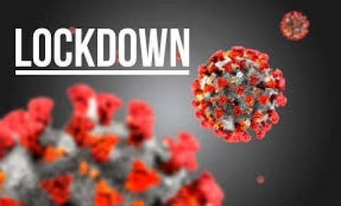 Município decreta lockdown