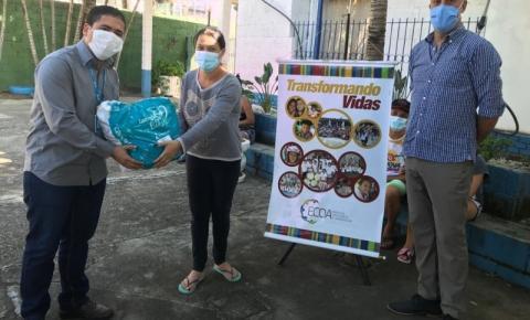 Energisa doa cestas básicas para assistência de 100 famílias em Bragança Paulista