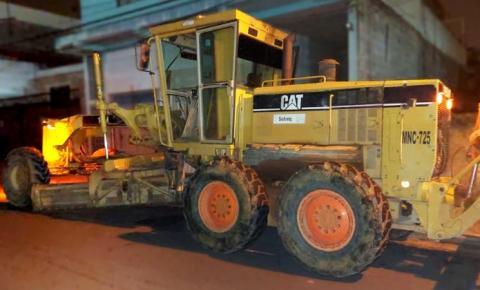 Guarda Municipal recupera máquina roubada na região