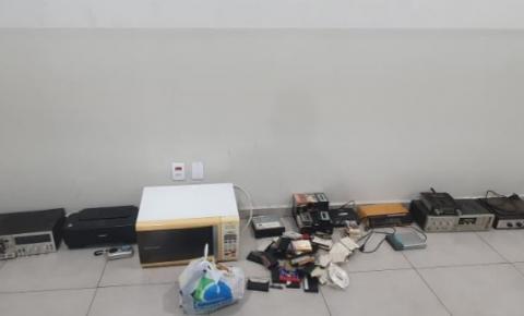 PM prende quadrilha por furto em residência