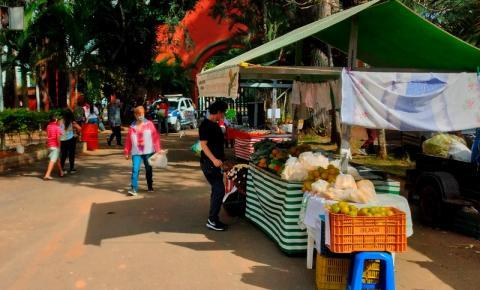 As feiras-livres estão acontecendo em vários pontos da cidade