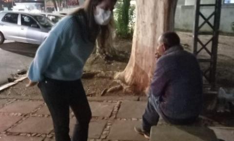 """Serra Negra acolhe pessoas em situação de rua no """"Discão"""""""