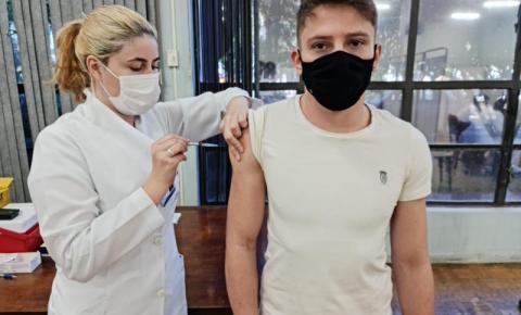 Secretaria de Saúde antecipa vacinação para pessoas acima de 27 anos