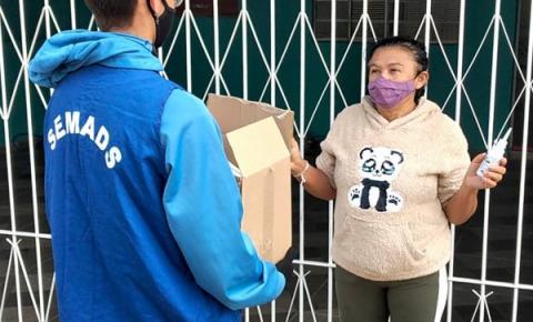 Força Tarefa leva kits de proteção aos moradores do Torozinho