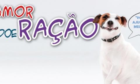 Lançada campanha de arrecadação de ração para animais resgatados