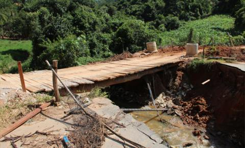 Ponte que caiu: Estado aguarda Prefeitura enviar documentos para autorizar início das obras
