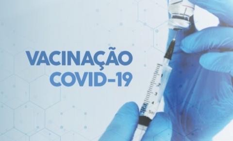 Será aberto agendamento de 1ª e 2ª dose a partir das 18h de hoje