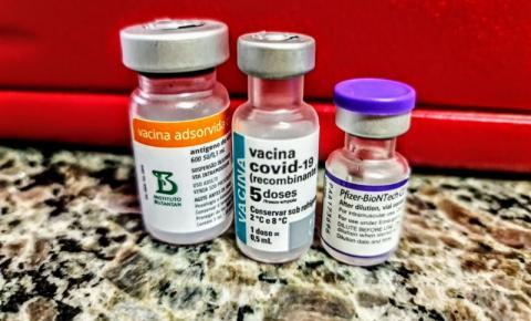 Nesta segunda-feira (23), novo agendamento será aberto para vacina contra a Covid-19