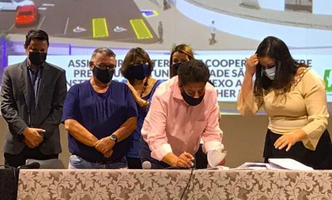 USF e Prefeitura assinam termo de cooperação para construção de espaço voltado à Saúde
