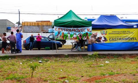 No mês de setembro o Castramóvel atenderá os bairros do Campo Novo e Boa Vista dos Silva