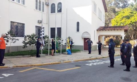 7 de Setembro é lembrado, em Bragança, com hasteamento das bandeiras