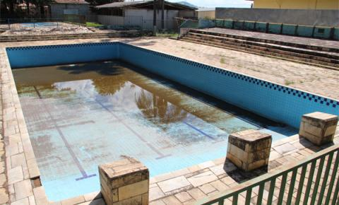 Piscinas públicas de Pinhalzinho passarão o verão na seca