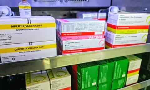 Campanha de Multivacinação começa em outubro para menores de 15 anos