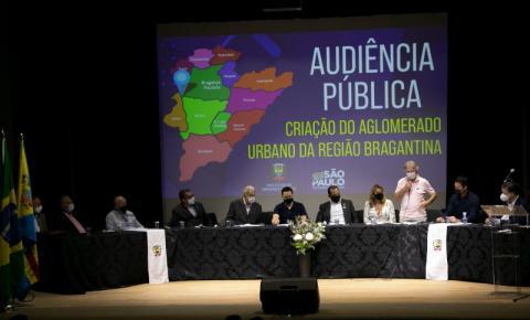 Audiência pública discute criação do Aglomerado Urbano da Região Bragantina