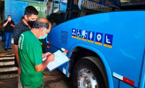 Transporte Público de Bragança Paulista passa por fiscalização