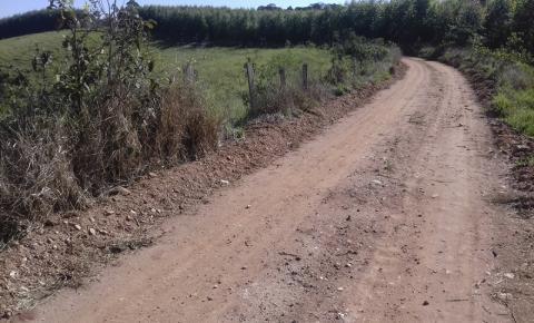 Estradas rurais começam  a receber melhorias