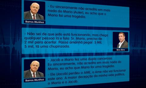 """Vereadora divulga conteúdo de gravação """"secreta"""""""
