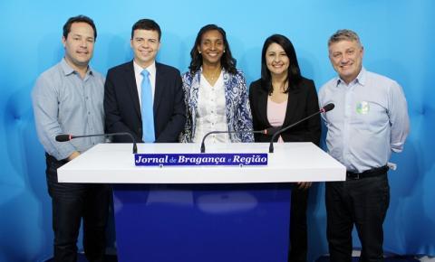 Candidatos a prefeito de Atibaia participam de debate do Jornal de Bragança e Região