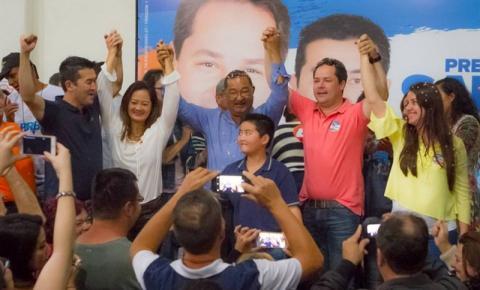 Saulo (PSB) consegue reeleição com  quase 20 mil votos a mais que Beto (PV)