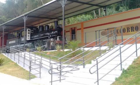 Locomotiva resgatada será  inaugurada como ponto turístico