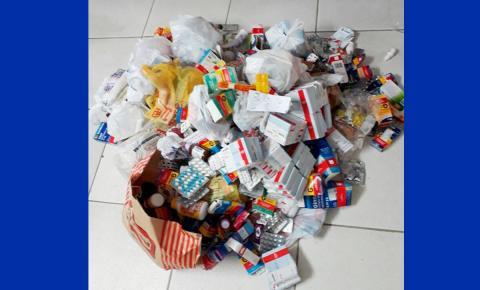 Secretaria de Saúde incentiva o uso racional de medicamentos
