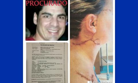 Homem que tentou matar esposa continua foragido da Justiça