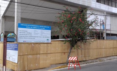 """Prefeitura não se manifesta sobre custos da """"Fábrica de Cultura"""""""