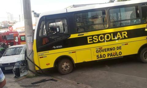 Aberta sindicância  para investigar acidente com ônibus escolar