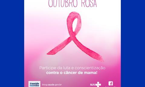 """Outubro Rosa: """"Dia D"""" será no dia 24, com ações no centro da cidade"""