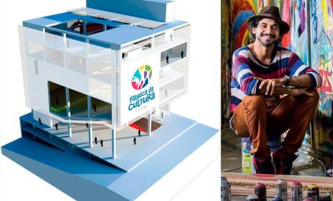 Pintura da Fábrica de Cultura custará R$ 300 mil