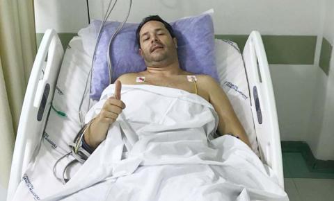 Prefeito Saulo descansa em casa, após pico de pressão alta