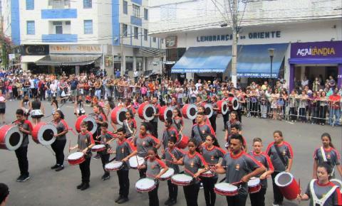 Município comemora  aniversário com desfile cívico