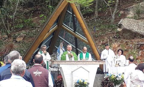 Ermida de Nossa Senhora da Pedra terá primeira celebração da Padroeira do Brasil, após consagração