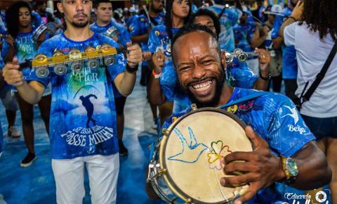 Carnaval terá bateria da Beija-Flor